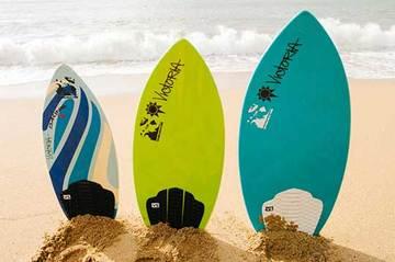 Phuket Surfing Thailand Kata Noi Beach Skimboard