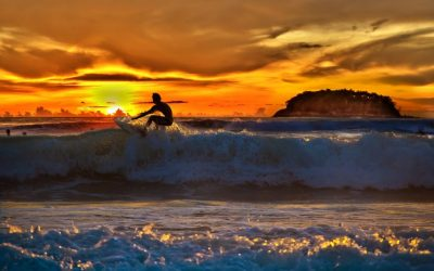 The benefits to take away from going surfing