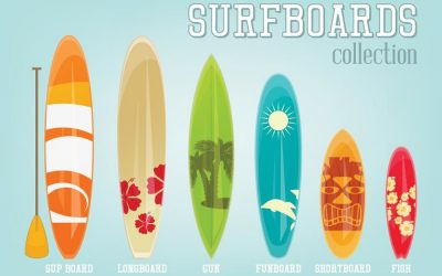 Surf board 101: Learn more about the different types of surfboards you can go conquer the waves with