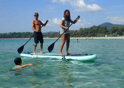 Phuker Surfing Kata Beach Stand Up Paddling 2018 05