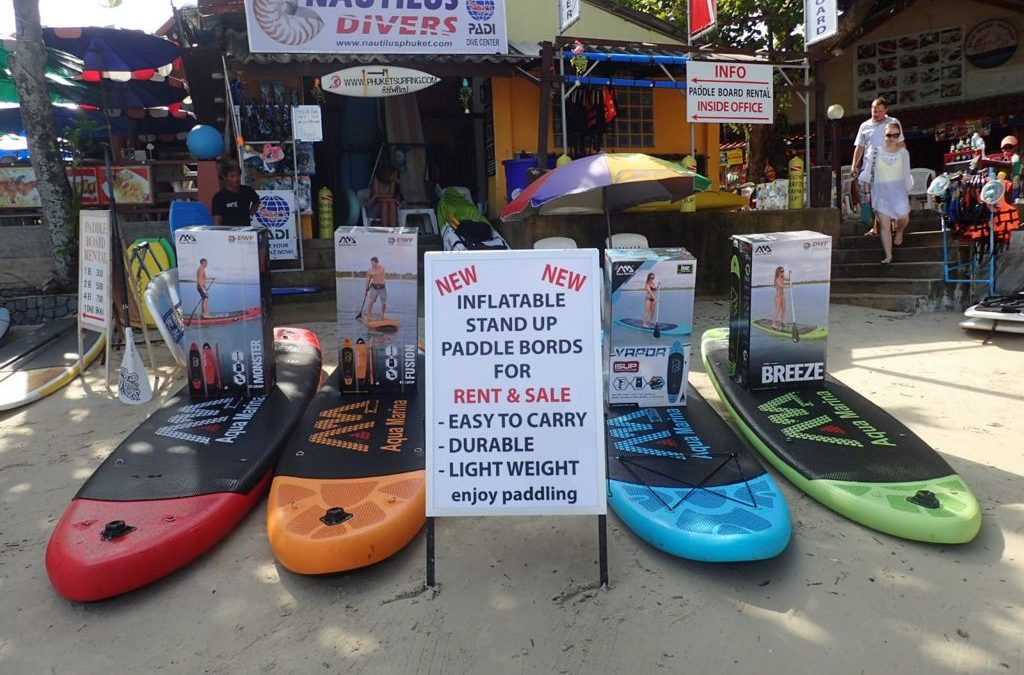 Paddle-boarding -a new and healthy trend
