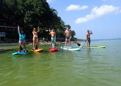 Phuker Surfing Kata Beach Stand Up Paddling 2018 14