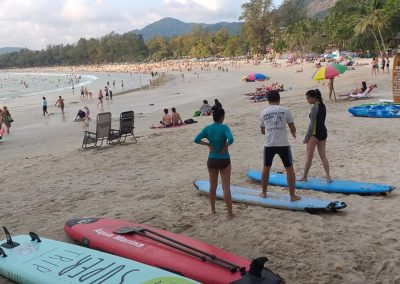 Phuket Surfing Kata Beach Surf Lessons On The Beach