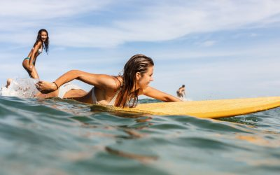The proper etiquette on Surfing
